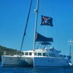 Sailing Catamaran Black Pearl